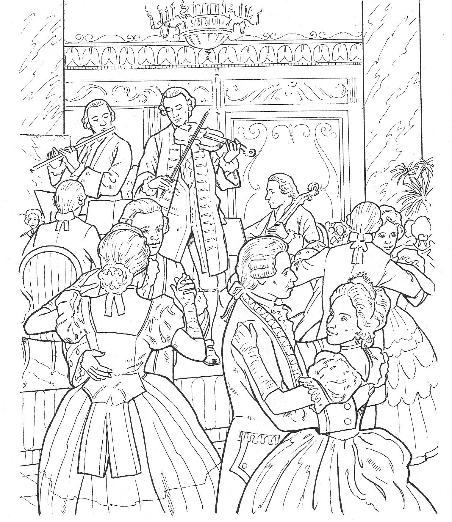 vivaldi coloring pages - photo#21