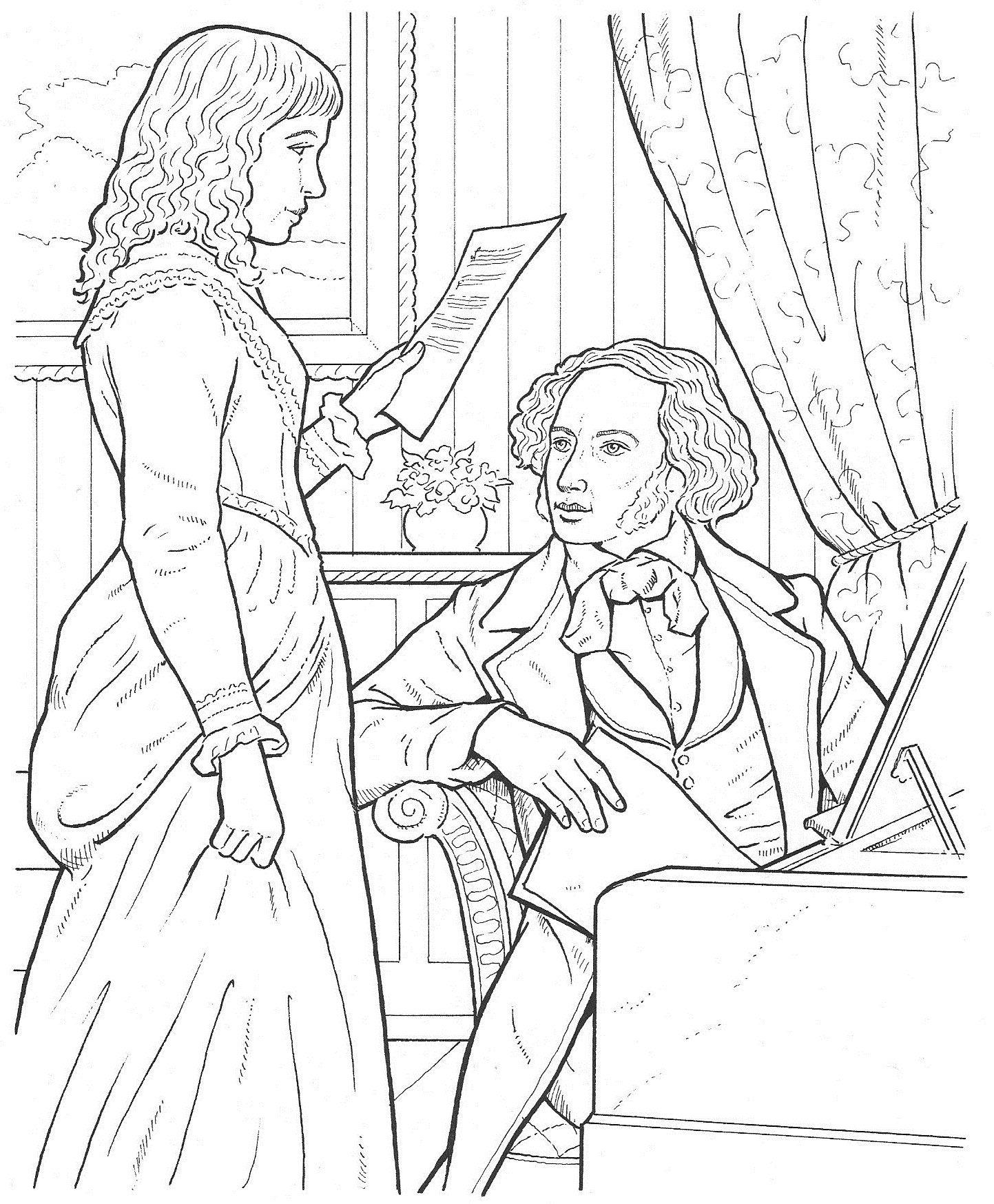 baby bach coloring pages - photo #30