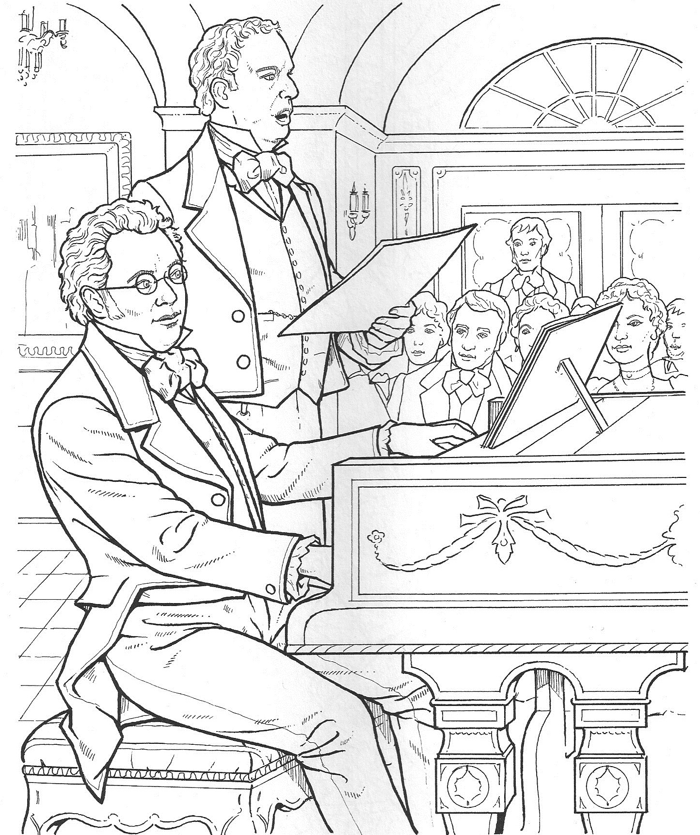vivaldi coloring pages - photo#23