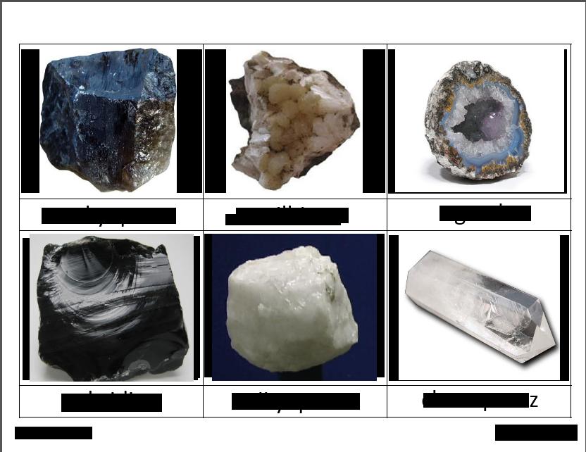 rocks deann5 - Montessori