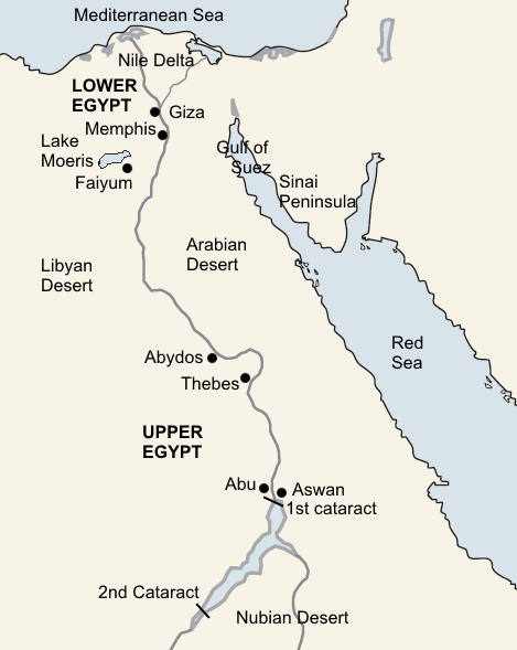 Egypt Labelled